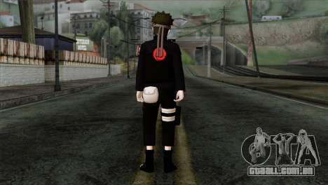 Naruto Black Skin para GTA San Andreas segunda tela