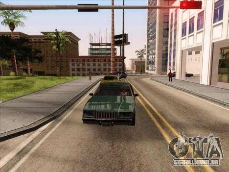HQ ENB Series v2 para GTA San Andreas por diante tela