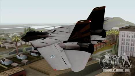 Grumman F-14B VF-193 Lions para GTA San Andreas esquerda vista