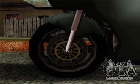 GTA LCS PCJ-600 para GTA San Andreas traseira esquerda vista