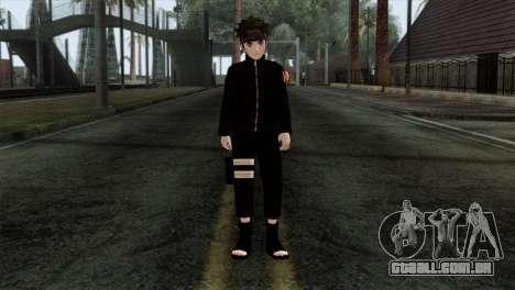 Naruto Black Skin para GTA San Andreas
