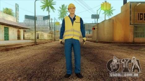 Takedown Redsabre NPC Shipworker v1 para GTA San Andreas