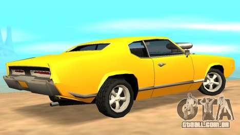Sabre Charger para o motor de GTA San Andreas