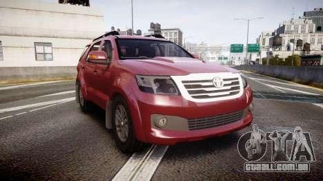 Toyota Hilux SW4 2015 para GTA 4