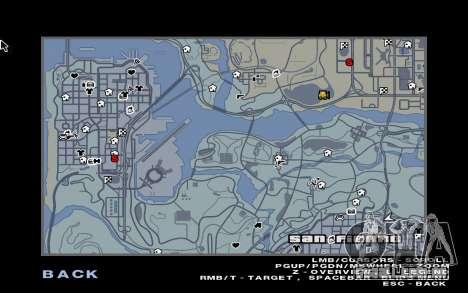 GTA 5 Map Mod v1.3 para GTA San Andreas terceira tela
