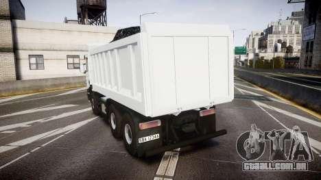 Scania P420 para GTA 4 traseira esquerda vista