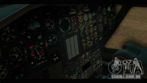 CH-47 Chinook para GTA San Andreas vista direita