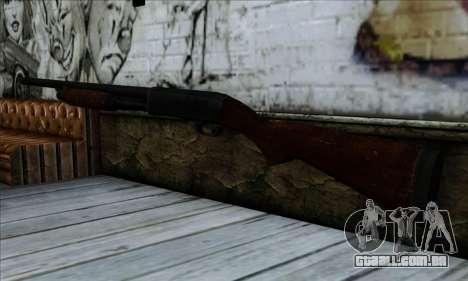 M37 Ithaca Long SS para GTA San Andreas segunda tela
