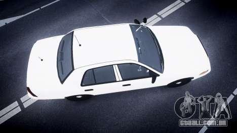 Ford Crown Victoria LCPD Unmarked [ELS] para GTA 4 vista direita