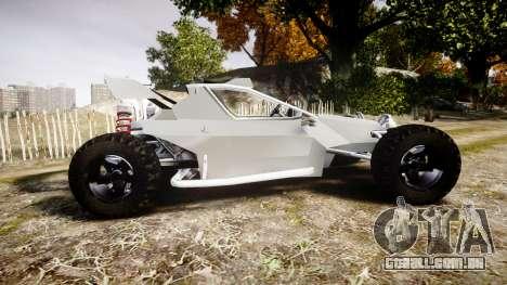 Buggy X para GTA 4 esquerda vista