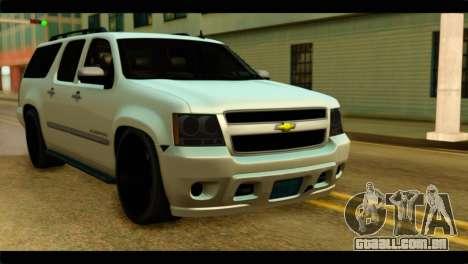Chevrolet Suburban 2010 NFS para GTA San Andreas