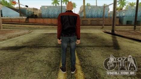 Skin 4 from Heists GTA Online DLC para GTA San Andreas segunda tela