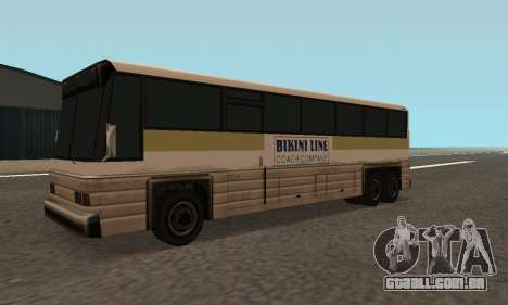 Coach Fixed para GTA San Andreas