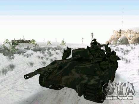 Panther para GTA San Andreas traseira esquerda vista