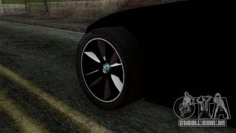 Toyota Supra FT v2 para GTA San Andreas traseira esquerda vista