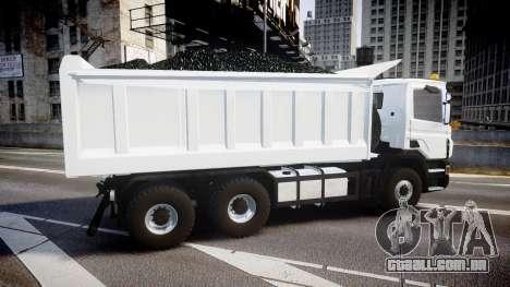 Scania P420 para GTA 4 esquerda vista