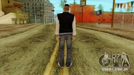 Luis Skin from GTA 5 para GTA San Andreas segunda tela