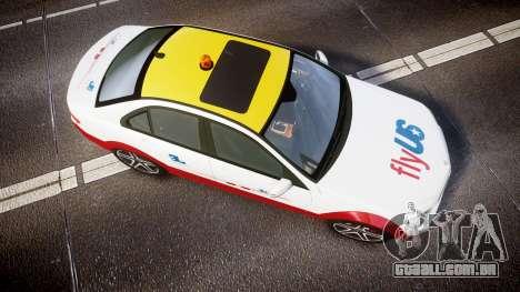 Mercedes-Benz C180 FlyUS para GTA 4 vista direita