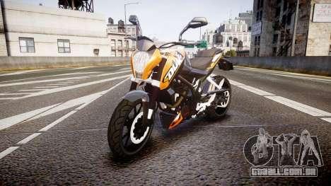 KTM 125 Duke para GTA 4