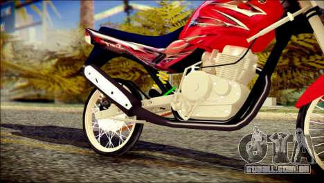Yamaha Scorpio Z para GTA San Andreas vista direita