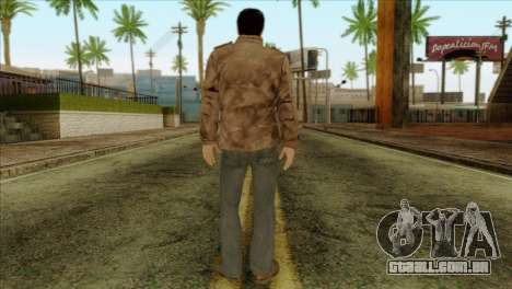 Classic Alex Shepherd Skin without Flashlight para GTA San Andreas segunda tela