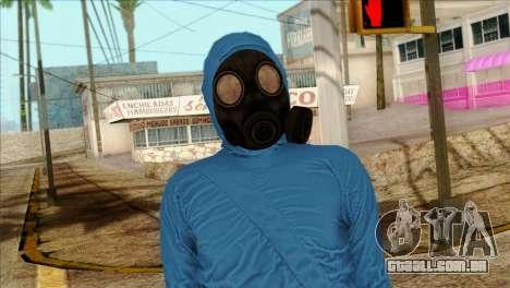 Skin 1 from Heists GTA Online DLC para GTA San Andreas terceira tela