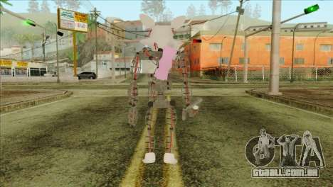 Mangle from Five Nights at Freddy 2 para GTA San Andreas segunda tela