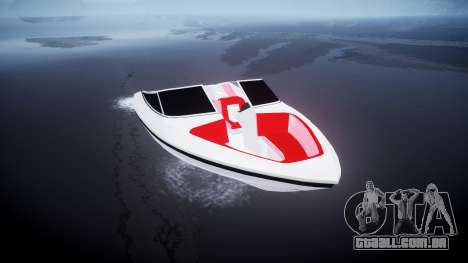 Velocidade barco para GTA 4