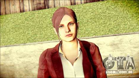 Claire Redfield from Resident Evil para GTA San Andreas terceira tela