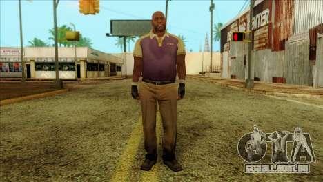 Coach from Left 4 Dead 2 para GTA San Andreas