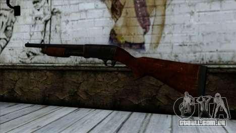 M37 Ithaca para GTA San Andreas segunda tela