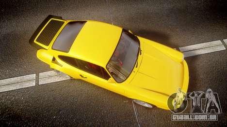 RUF CTR Yellow Bird para GTA 4 vista direita