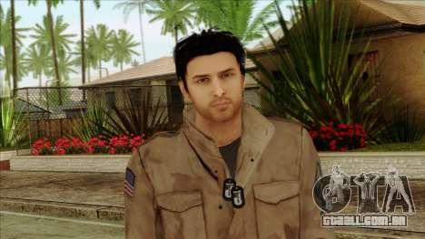 Classic Alex Shepherd Skin without Flashlight para GTA San Andreas terceira tela