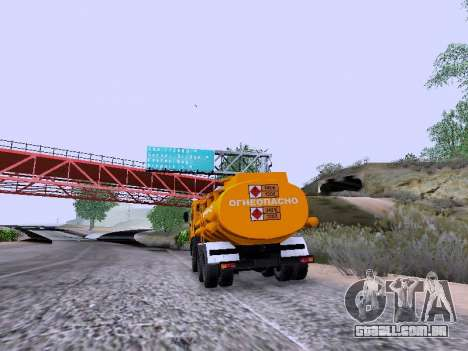 KamAZ 53212 para GTA San Andreas esquerda vista