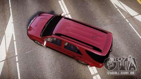 Toyota Hilux SW4 2015 para GTA 4 vista direita