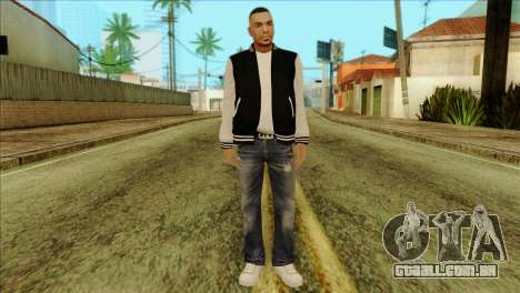 Luis Skin from GTA 5 para GTA San Andreas