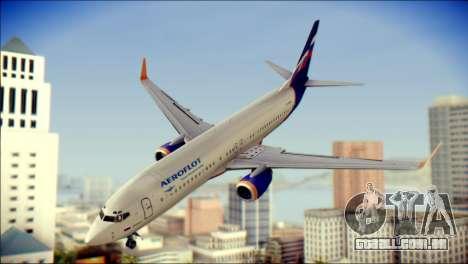 Boeing 737-800 Aeroflot para GTA San Andreas