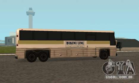 Coach Fixed para GTA San Andreas vista traseira
