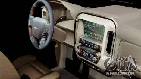 Chevrolet Silverado 2014 LTZ para GTA San Andreas vista direita