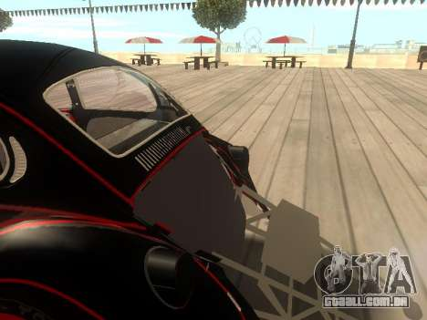 Volkswagen Super Beetle Grillos Racing v1 para vista lateral GTA San Andreas