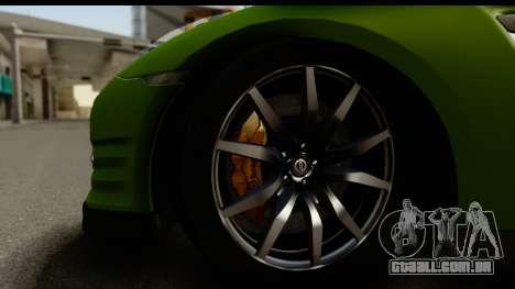 Nissan GT-R Dragster para GTA San Andreas vista traseira