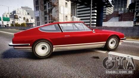 GTA V Lampadati Pigalle para GTA 4 esquerda vista