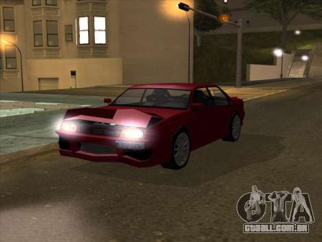 Sultan GunkinModding para GTA San Andreas vista interior