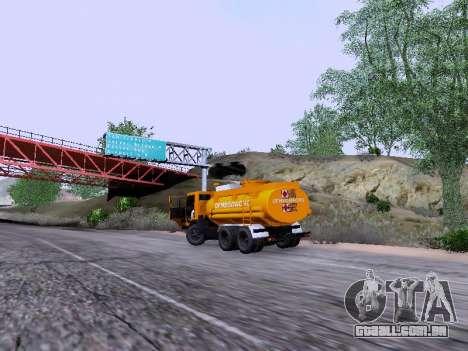 KamAZ 53212 para GTA San Andreas vista traseira