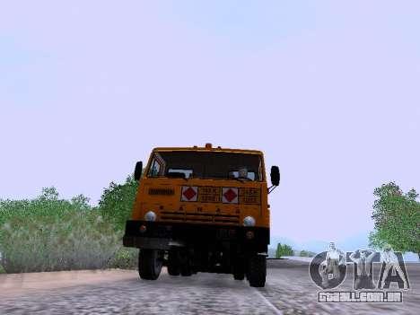 KamAZ 53212 para GTA San Andreas vista direita