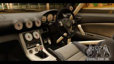 Nissan Silvia S15 Kagamine Rin Itasha para GTA San Andreas vista direita