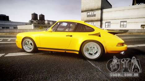 RUF CTR Yellow Bird para GTA 4 esquerda vista