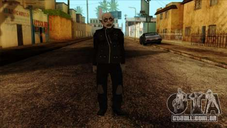 Skin 2 from Heists GTA Online DLC para GTA San Andreas