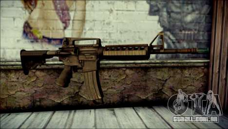 Rumble 6 Assault Rifle para GTA San Andreas