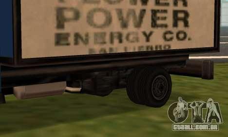 Yankee Fix para GTA San Andreas esquerda vista